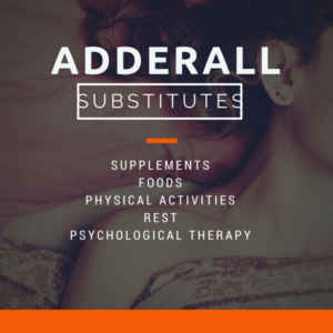 Adderall substitutes